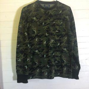 Polo Ralph Lauren Camo Long Sleeve T-shirt